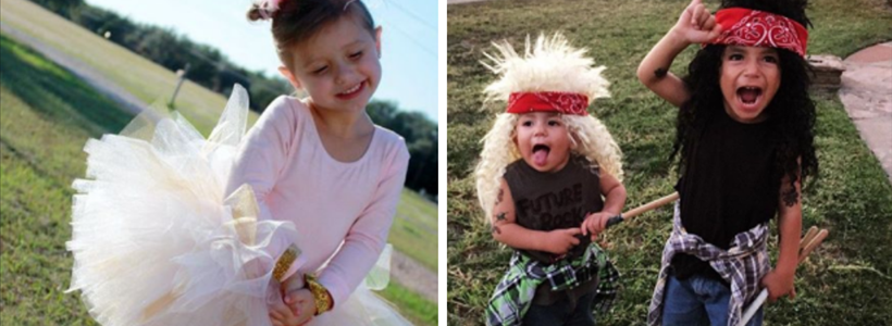 10 Easy, Handmade Kids Halloween Costumes (No Sewing Required)