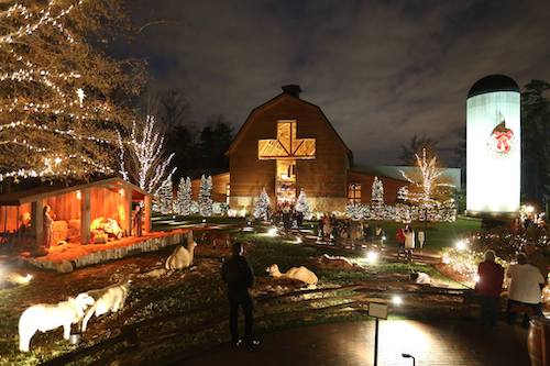 Providence OB/GYN in Charlotte suggests going to the Billy Graham Library and take part in several Christmas activities to get you in the Christmas spirit.