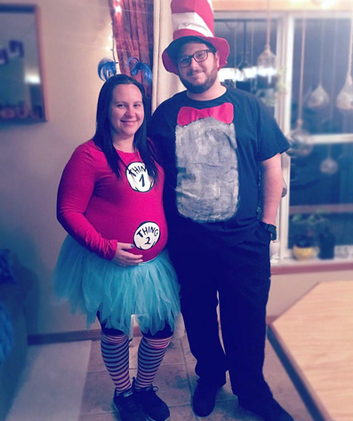Providence OB/GYN gives you easy, do-it-yourself Halloween costumes during your pregnancy.